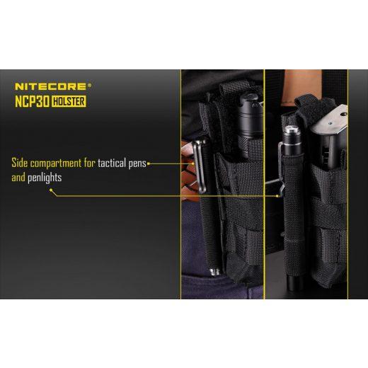 Nitecore NCP30 Hordtok Black