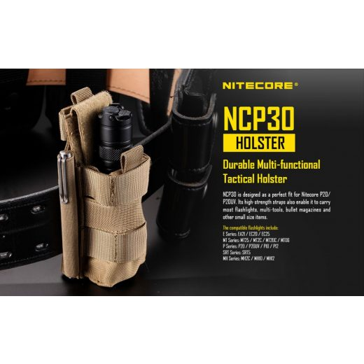 Nitecore NCP30 Hordtok Khaki