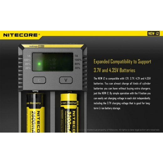 Nitecore NEW I2 Akkumulátor Töltő