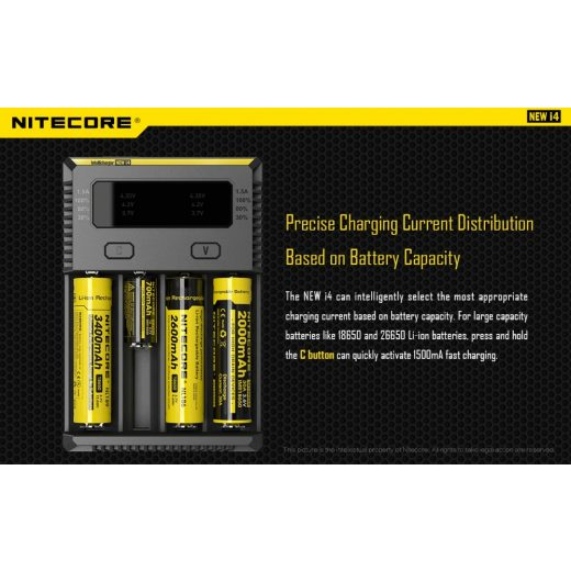 Nitecore NEW I4 Akkumulátor Töltő