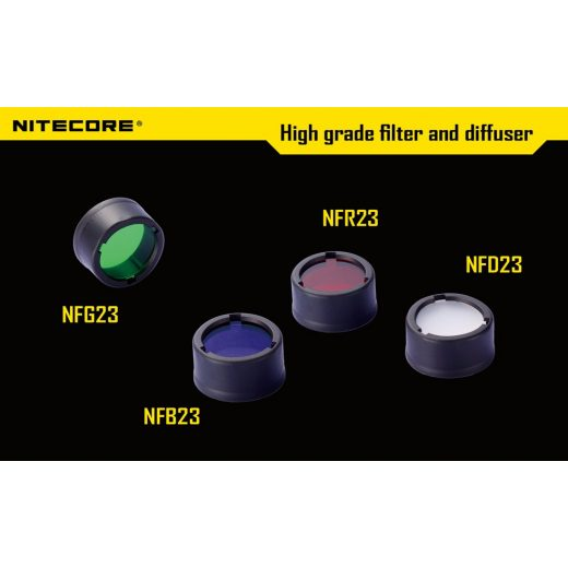 Nitecore NFB23 Kék Szűrő