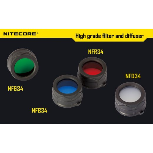 Nitecore NFB34 Kék Szűrő