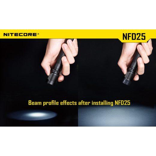 Nitecore NFD25 Fehér Szűrő