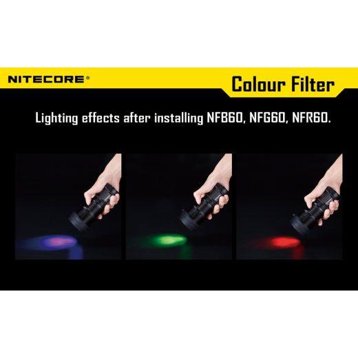 Nitecore NFD60 Fehér Szűrő