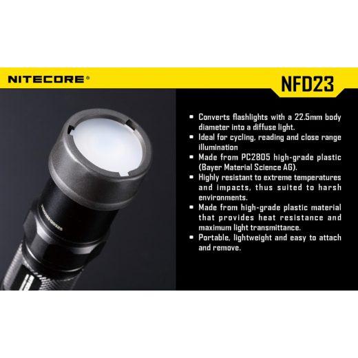 Nitecore NFR23 Piros Szűrő
