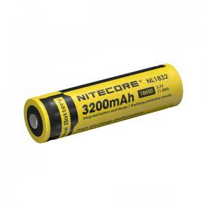 Nitecore 18650 3,7V 3200 mAh védett akkumulátor