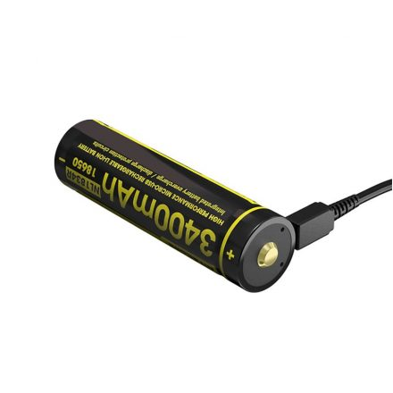 Nitecore 18650 3,6V 3400 mAh USB-s Li-Ion akkumulátor
