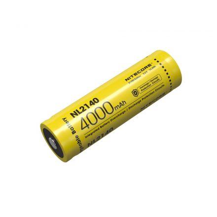 Nitecore 21700 NL2140 3,6V 4000 mAh védett Li-Ion akkumulátor