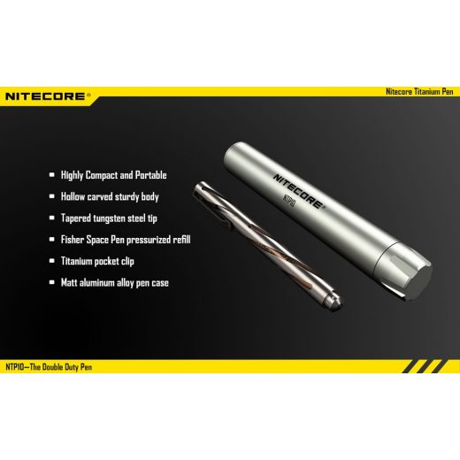 Nitecore NTP10 Titán Toll