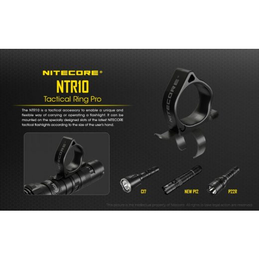 Nitecore NTR10 Taktikai Gyűrű