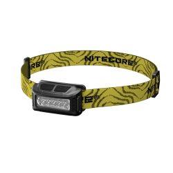 Nitecore NU10 Fejlámpa - Fekete - 160 lm - USB - Beépített Akku
