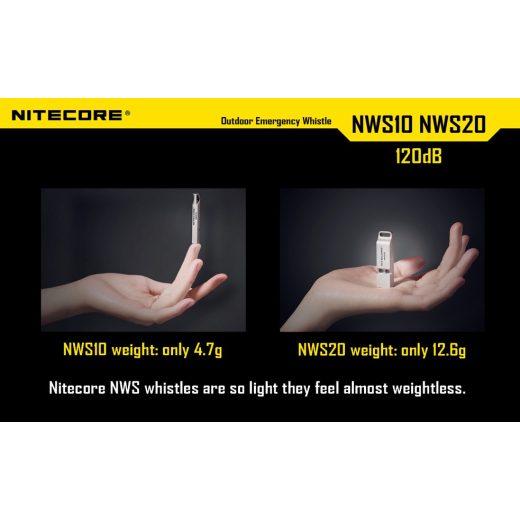 Nitecore NWS10 Segélykérő Síp