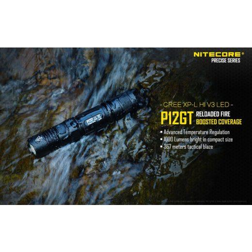 Nitecore P12GT Elemlámpa - 1000 lm