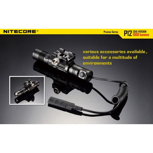 Nitecore P12 Elemlámpa - 1000 lm