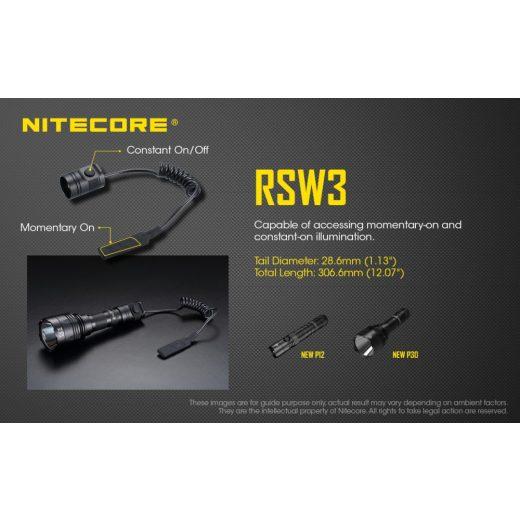 Nitecore RSW3 Lengőkapcsoló