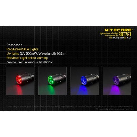 Nitecore SRT7GT Elemlámpa - 1000 lm