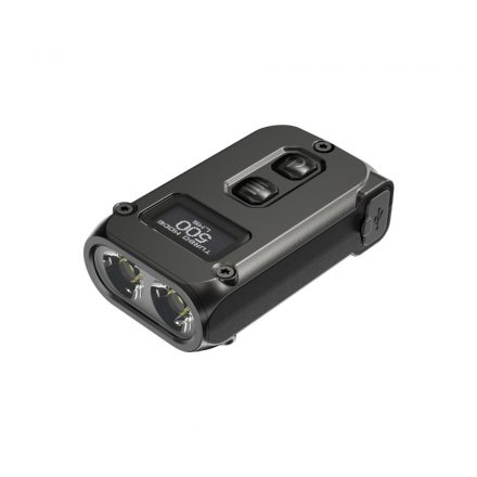 Nitecore TINI2 Kulcstartó Lámpa - 500 lm - USB - Beépített Akku - Fekete