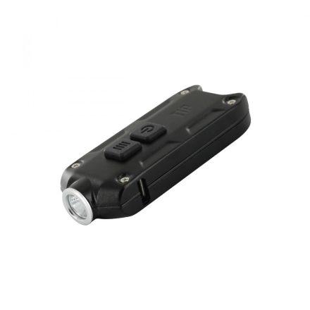 Nitecore TIP Elemlámpa - Fekete - 360 lm - USB - Beépített Akku