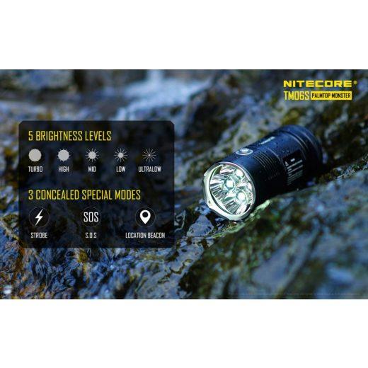 Nitecore TM06S Elemlámpa - 4000 lm