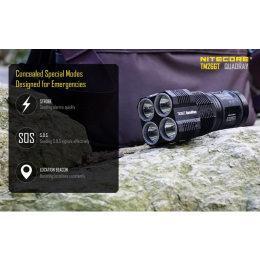 Nitecore TM26GT Elemlámpa - 3500 lm