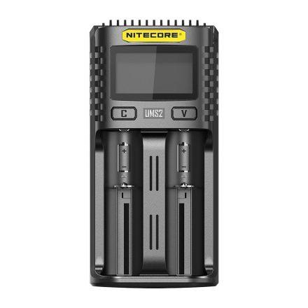 Nitecore UMS2 USB Li-Ion / NiMH Akkumulátor Töltő