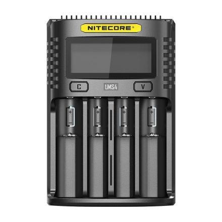 Nitecore UMS4 USB Li-Ion / NiMH Akkumulátor Töltő