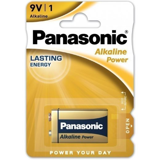 Panasonic Alkaline Power 9V Elem