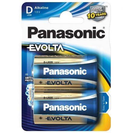 Panasonic Evolta D LR20 Góliát Elem x 2 db
