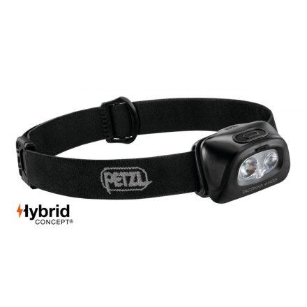 Petzl TACTIKKA+RGB Fejlámpa - 350 lm - Fekete