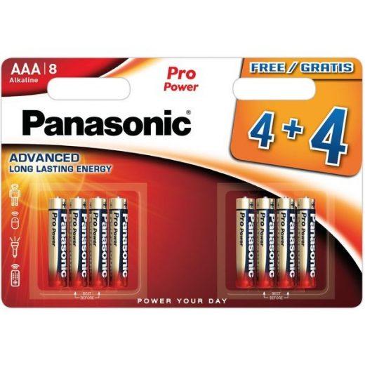 Panasonic Pro Power AAA LR03 Mikro Elem, 8 db