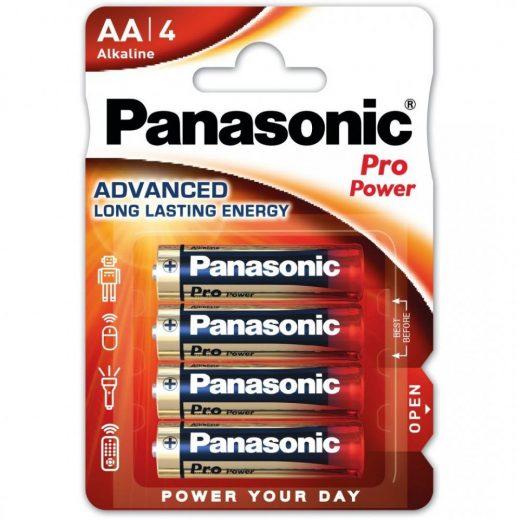 Panasonic Pro Power AA LR6 Ceruza Elem, 4 db