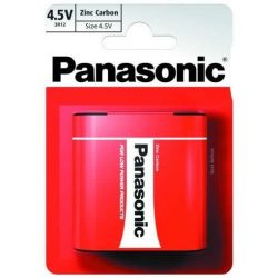 Panasonic Zinc Féltartós 4,5V Lapos Elem