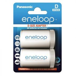 Panasonic Eneloop AA / D adapter