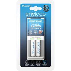 Panasonic Eneloop BQ-CC50 Töltő + 2 db AA Akkumulátor