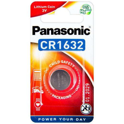Panasonic CR1632 Lítium Gombelem