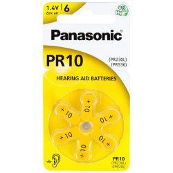 Panasonic PR10 Hallókészülék Elem x 6 db