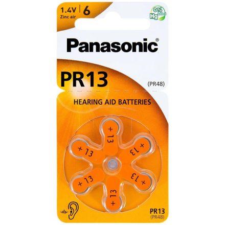 Panasonic PR13 Hallókészülék Elem x 6 db
