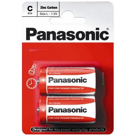 Panasonic Zinc Féltartós C Baby Elem, 2 db