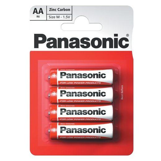 Panasonic Zinc Féltartós AA Ceruza Elem, 4 db