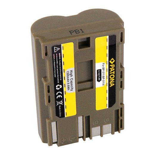 Canon BP-511 akkumulátor - Patona