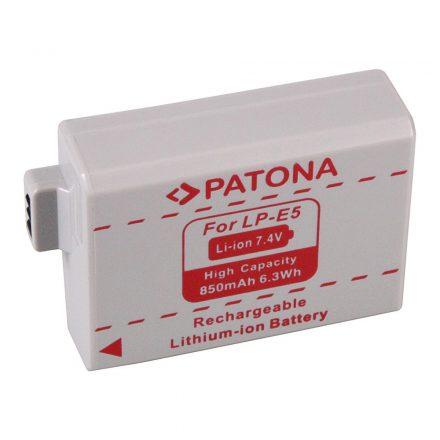 Canon LP-E5 akkumulátor - Patona