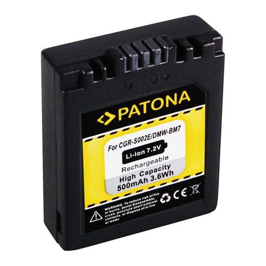 Panasonic DMW-BM7, CGR-S002 akkumulátor - Patona