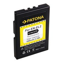 Nikon EN-EL2 akkumulátor - Patona