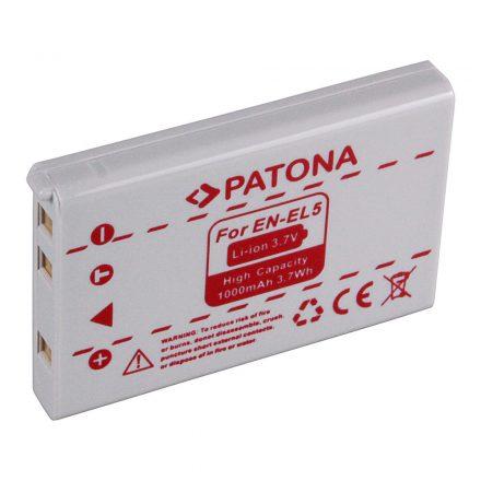 Nikon EN-EL5 akkumulátor - Patona