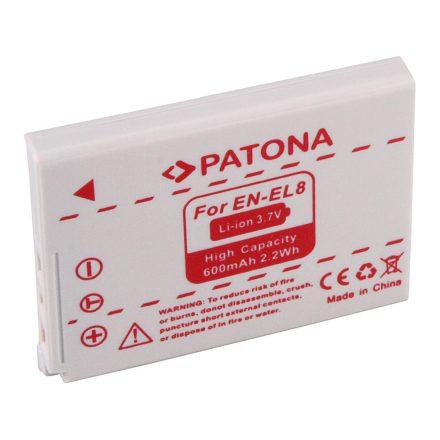 Nikon EN-EL8 akkumulátor - Patona