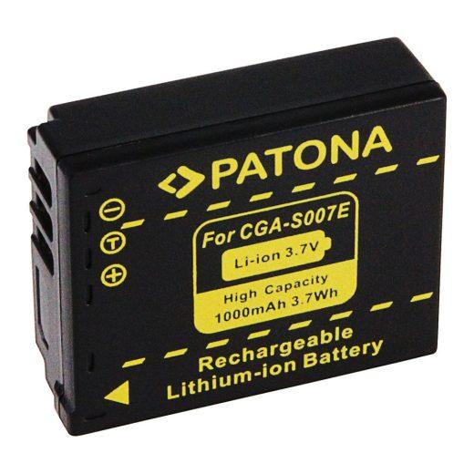 Panasonic CGA-S007 akkumulátor - Patona