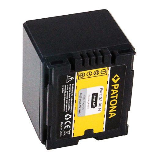 Panasonic CGA-DU14 akkumulátor - Patona