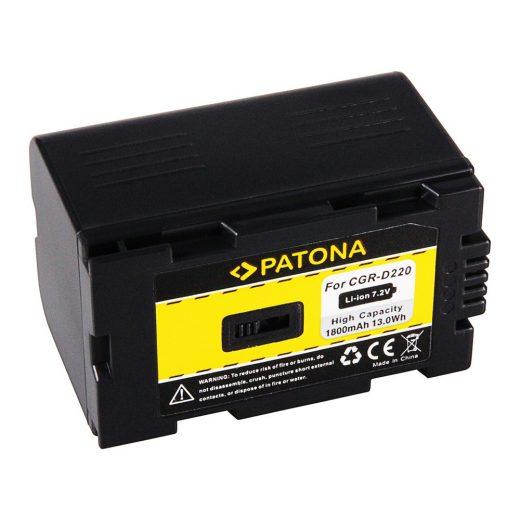 Panasonic CGR-D220 akkumulátor - Patona