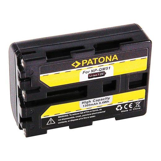 Sony NP-QM51 akkumulátor - Patona