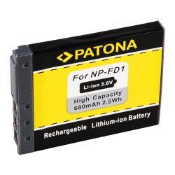 Sony NP-FD1 akkumulátor - Patona